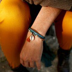 CADEAU pour elle, Bracelet BLEU, Cadeau NOËL, Bracelet FEMME, Bracelet CUIR, Bracelet BRELOQUE, Cadeau femme, Cadeau AMOUREUSE, IDÉE cadeau