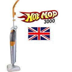 Hotmop 1500W Hot Steam Mop Cleaner for Hard/Wood/Tile/Laminate/Carpet Floor Home Cleaner New-Tek Technology - http://domesticcleaningsupplies.co.uk/product/hotmop-1500w-hot-steam-mop-cleaner-for-hardwoodtilelaminatecarpet-floor-home-cleaner-new-tek-technology/