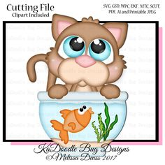 Cutie KaToodles - Kitty Fishing