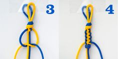 how to tie triple square knot bracelet - Yahoo Image Search Results Nut Bracelet, Bracelet Knots, Bracelet Crafts, Bracelet Making, Macrame Square Knot, Macrame Knots, Macrame Bracelets, Thread Bracelets, Macrame Patterns