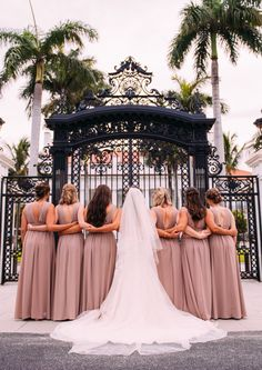 """Flagler Museum is such a beautiful place to say """"I do"""" and the bridal party looked just as incredible in Palm Beach! #floridaweddingphotographer #floridaweddingvideographer #indianaweddingphotographer #indianaweddingvideographer Wedding Videos, Bridesmaid Dresses, Wedding Dresses, Party Looks, South Florida, All Over The World, Palm Beach, Beautiful Places, The Incredibles"""