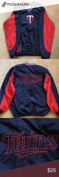 Minnesota Twins Jacket Minnesota Twins Jacket with Zipper on the side. Worn to one game and still looks like new! Very warm and comfortable! Jackets & Coats