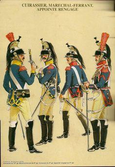 MINIATURAS MILITARES POR ALFONS CÀNOVAS: LOS CORACEROS de 1804, por Michel PETARD, fuente = Bibliotca Militar de Barcelona