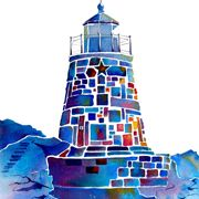 Whimsical Lighthouse by Jo Lynch Whimzicals