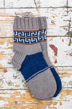 Hand Knitted Men's Socks