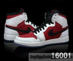 7083642fa0405e Authentic Air Jordan 1 Carmine White Red Black-003 Cheap Nike Shoes Online