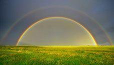Double Rainbow (Silt, Colorado, U.S.) wallpaper