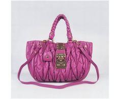 Miu Miu Totes Lambskin Matelasse Knit Bag Plum Miu Miu bags, Miu Miu handbags, Miu Miu outlet