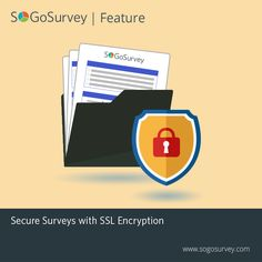 At a time when #CyberCrime is at its peak, SoGoSurvey's #SSL Encrypted platform ensures that all the #survey responses are protected.