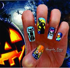 uñas halloween / halloween nails