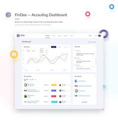 FinDox — Accauting Dashboard on Behance