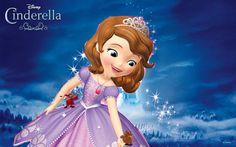 Princess Sofia With Cinderella's Mouse Friends