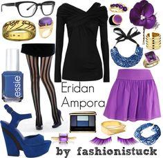 """Eridan Ampora"" by wolferian on Polyvore"