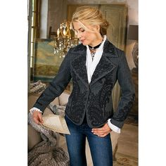 Eaton Manor Jacket from Soft Surroundings on shop.CatalogSpree.com, your personal digital mall.