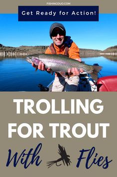 Catch Bigger Trout with Trolling Flies: A Complete Guide Trout Fishing Tips, Fishing Knots, Best Fishing, Kayak Fishing, Kenai River, Cooking Fish, How To Cook Fish, Types Of Fish, Troll