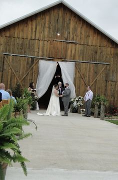 Outdoor Furniture, Outdoor Decor, Barn, Wedding Ideas, Wedding Dresses, Bride Dresses, Converted Barn, Bridal Gowns, Alon Livne Wedding Dresses