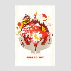 """Spread Joy"" by Brad Davis"