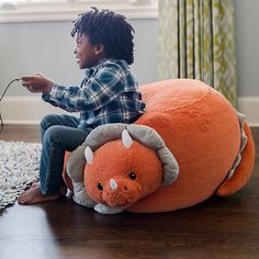 Animal Adventure Soft Landing Bestie Beanbags Dinosaur Character Beanbag | Kohls