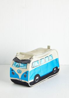 Groovy Getaway Toiletry Bag in Blue. Youll drive classic musicians and motoring enthusiasts wild when you roll up with this uber-cute toiletry…