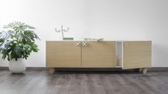 Nodo modern buffet by Formabilio, €688. Flooring: Area Pavimenti.