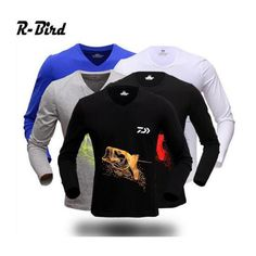 a64a78357e5 Aliexpress.com : Buy Fishing t shirt 2016 HOT Dawa daiwa fishing clothing  dawa long sleeve quick drying breathable anti uv sun protection clothing  from ...