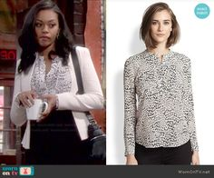 rebecca-taylor-silk-leopard-print-blouse-hilary-young-restless