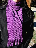 Archernar Cabled Scarf {easy} | cogKnition - click for PDF.  I love the texture on this one!