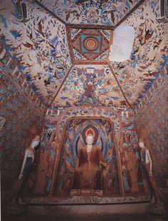 Mogao caves, near Dunhuang, Gansu, China