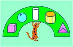 3D Shape Worksheets Sally Salamander