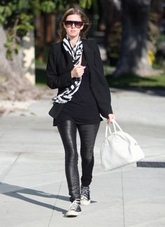 Nicky Hilton wearing Converse Chuck Taylors. Get yours at Shoedipity.com.