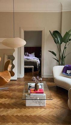 Interior Design Inspiration, Home Decor Inspiration, Home Interior Design, Decoration Design, Apartment Interior, House Rooms, Home And Living, Living Room Decor, Future