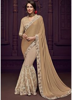 314e75853d This beautiful saree is best punctuated with stilettos and a sleek clutch. Haya  Creations