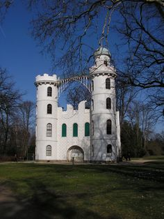Pfaueninselschloss (Peacock Island Palace) - a pleasure palace built in the late 18th century for Prussian King Friedrich Wilhelm II;  Berlin-Zehlendorf, Germany;  photo by GE@L€X