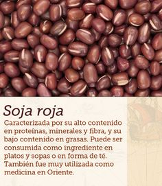 #soja #roja #soy #cocinasdelmundo #comida