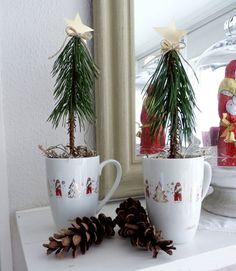 Bastelanleitung: Kleine Weihnachtsbäume - Wohnen & Garten