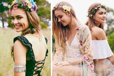 20 Boho Music Festival Hair Ideas to Buy & DIY | Camp Makery