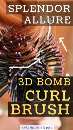 The best way on how to use a 3D Bomb Curl Brush and 3d bomb styling hair brush reviews. Tips and tricks on how to use 3d bomb curl brush. Hair tutorial for loose waves on short hair that is easy using a curling wand and blow drying with a round brush. The 3d bomb curl brush is a useful tool to help you make a new hairstyle and use with hair dryer to get a better natural effect. Makeup Geek, Makeup Tools, Makeup Ideas, Diy Skin Care, Skin Care Tips, Organic Skin Care, Natural Skin Care, Beauty Secrets, Beauty Hacks