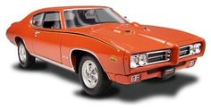 Description: Street Beasts 1/24 1969 Pontiac GTO Judge Kit   Scale: 1:24