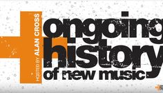 The Ongoing History of New Music is Canada's longest running radio documentary with Allan Cross. I savour this show every week! Check out these archives ;)