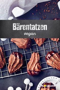vegane-barentatzen/ - The world's most private search engine Vegan Dessert Recipes, Vegan Sweets, Baking Recipes, Vegan Christmas Cookies, Christmas Baking, Vegan Blogs, Food Facts, Winter Food, Sweet Recipes
