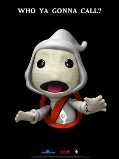 you can actually buy ghost busters costumes on little big planet this is awesome I saw this movie growing up. Sac Boy, Ghostbusters Costume, Little Big Planet, Planets Wallpaper, Ghost Busters, Game Costumes, Kids Board, Game Concept, Cosplay