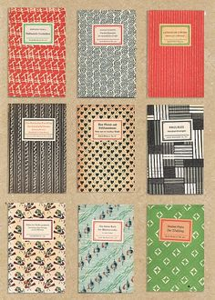 Nice collection of swiss vintage journals.