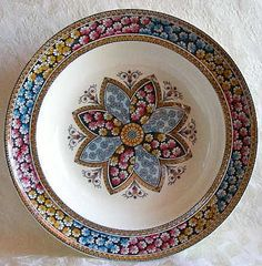 """Copeland """"Primrose"""" Soup Plate ~ Aesthetic Movement - For sale on Ruby Lane #RubyLane"""