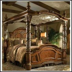 Awesome & California King Canopy Bed I want!!!!!! | Home Decor | Pinterest ...