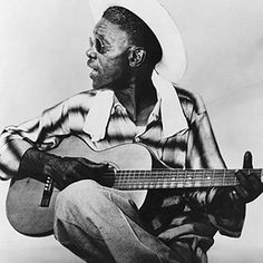 """Sam """"Lightnin'"""" Hopkins learned the blues from Blind Lemon Jefferson in the Twenties. He was a ferocious electric stylist in the Fifties, though he's perhaps best known for his nimble acoustic fingerpicking during the Sixties folk-blues revival."""