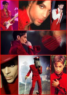 He looks amazing in red! And purple and green and yellow and ....