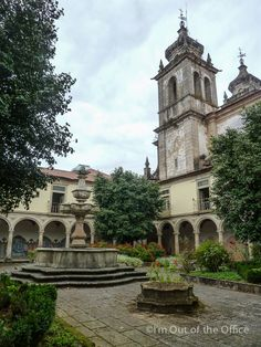 The Monastery of St. Martin of Tibães Mosteiro de Tibães is located in northern #Portugal,