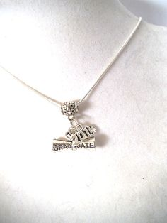 2014 Graduation Necklace with Silver by TerriJeansAdornments, $18.50