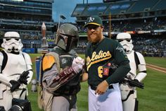 May the Fourth be with you. Which reminds us - Star Wars Fireworks Night is 9/19. #GreenCollar http://atmlb.com/1hV1Vvy