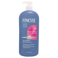 Finesse Shampoo (try finesse brand, not necessarily this line)